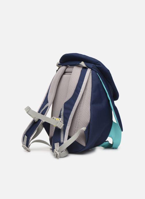 Sacs à dos Affenzahn Oliver Octopus Small Backpack 17*11*25 cm Bleu vue droite