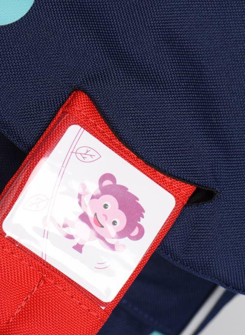 Sacs à dos Affenzahn Oliver Octopus Small Backpack 17*11*25 cm Bleu vue gauche
