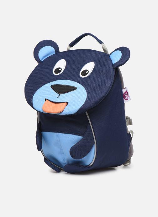 Sacs à dos Affenzahn Bobo Bear Small Backpack 17*11*25 cm Bleu vue portées chaussures