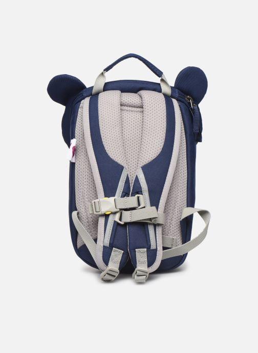 Sacs à dos Affenzahn Bobo Bear Small Backpack 17*11*25 cm Bleu vue face