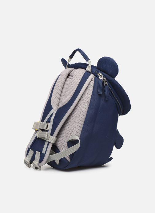 Sacs à dos Affenzahn Bobo Bear Small Backpack 17*11*25 cm Bleu vue droite