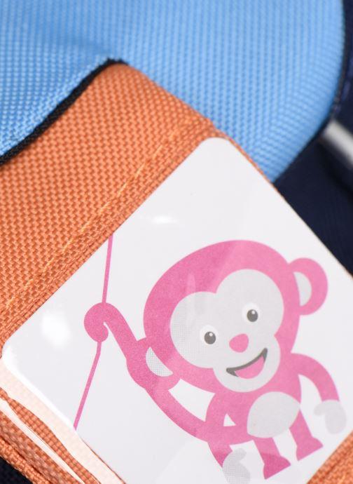 Sacs à dos Affenzahn Bobo Bear Small Backpack 17*11*25 cm Bleu vue gauche