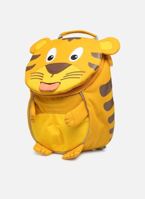 Sacs à dos Affenzahn Timmy Tiger Small Backpack 17*11*25 cm Jaune vue portées chaussures
