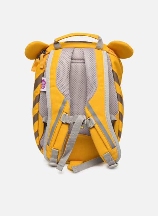 Sacs à dos Affenzahn Timmy Tiger Small Backpack 17*11*25 cm Jaune vue face