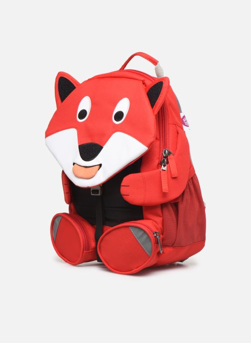 Schooltassen Affenzahn Fiete Fox Large Backpack 20*12*31 cm Rood model