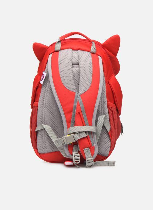 Schooltassen Affenzahn Fiete Fox Large Backpack 20*12*31 cm Rood voorkant
