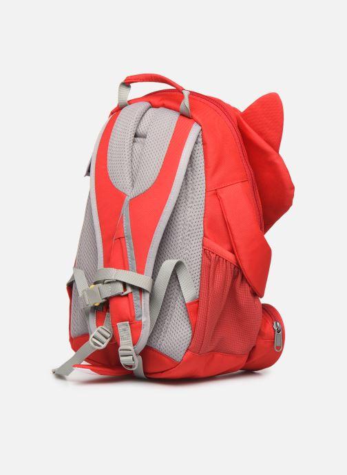 Schooltassen Affenzahn Fiete Fox Large Backpack 20*12*31 cm Rood rechts