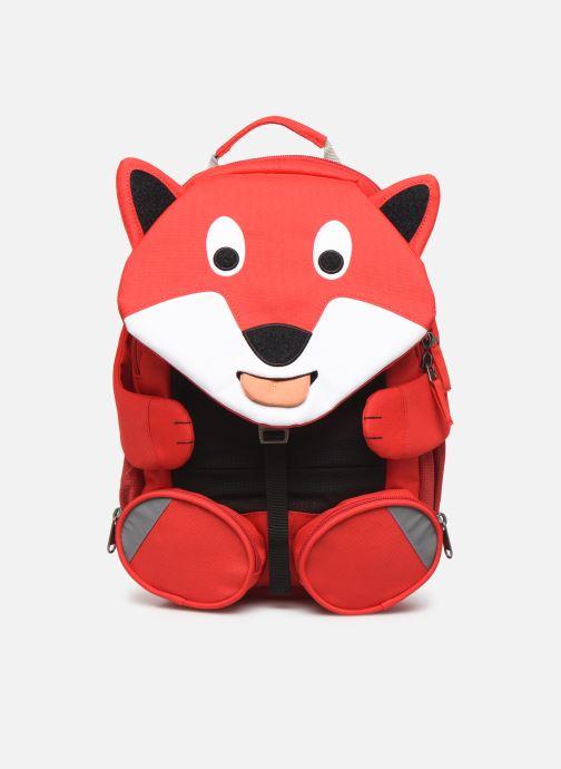 Schooltassen Affenzahn Fiete Fox Large Backpack 20*12*31 cm Rood detail