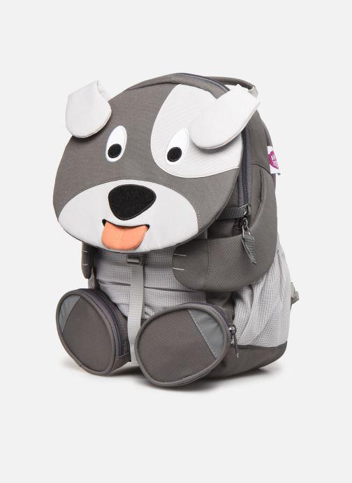 Schooltassen Affenzahn Dylan Dog Large Backpack 20*12*31 cm Grijs model
