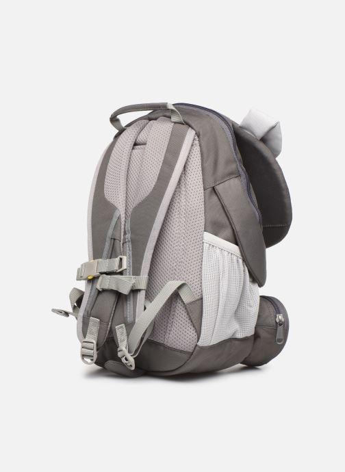 Schooltassen Affenzahn Dylan Dog Large Backpack 20*12*31 cm Grijs rechts