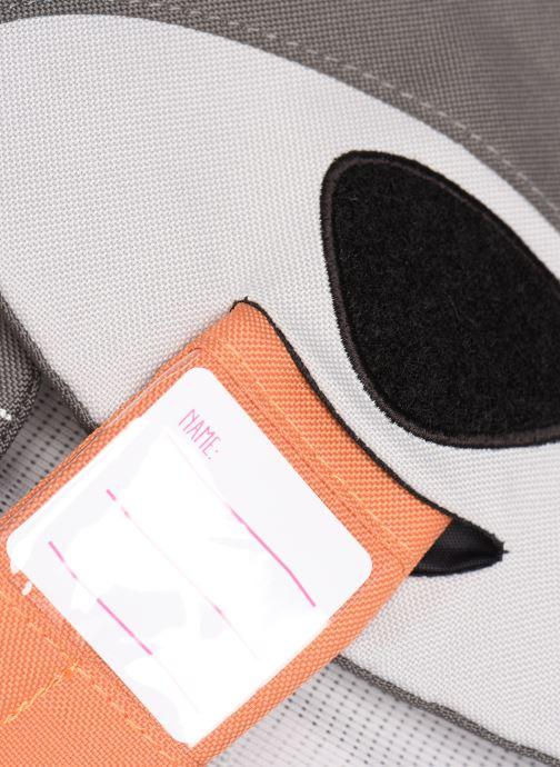 Schooltassen Affenzahn Dylan Dog Large Backpack 20*12*31 cm Grijs links