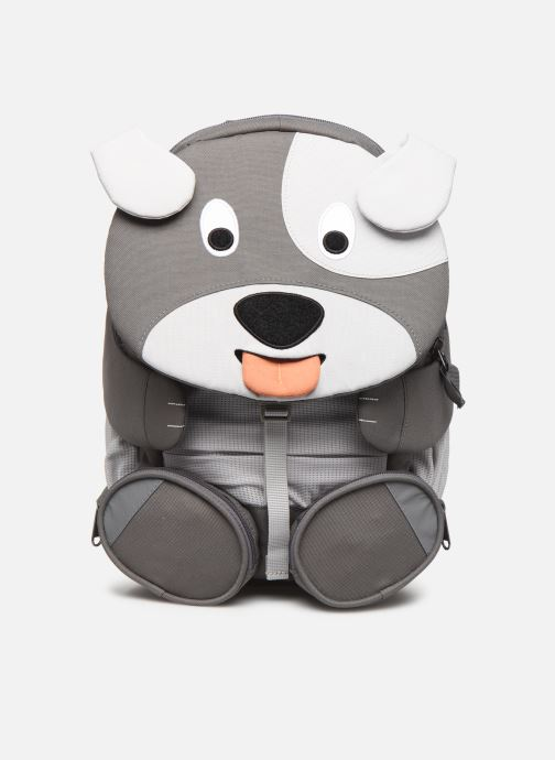 Schooltassen Affenzahn Dylan Dog Large Backpack 20*12*31 cm Grijs detail