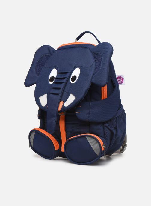 Scolaire Affenzahn Elias Elephant Large Backpack 20*12*31 cm Bleu vue portées chaussures