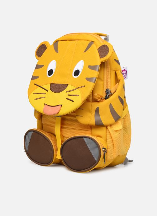 Scolaire Affenzahn Theo Tiger Large Backpack 20*12*31 cm Jaune vue portées chaussures