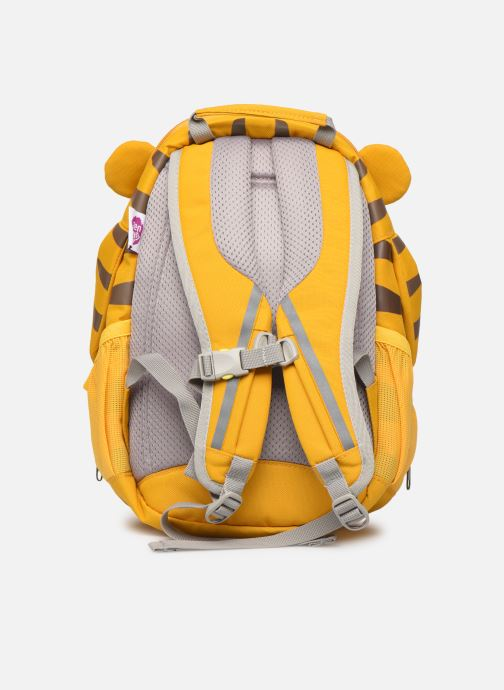 Scolaire Affenzahn Theo Tiger Large Backpack 20*12*31 cm Jaune vue face