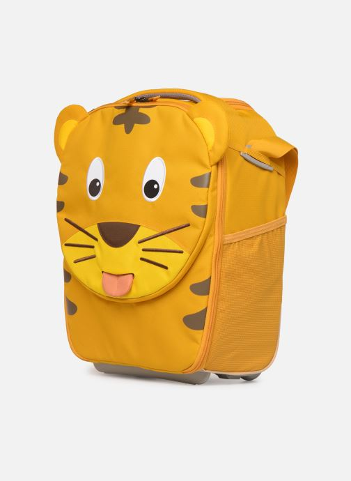 Bagage Affenzahn Timmy Tiger Suitcase 30*16,5*40cm Geel model