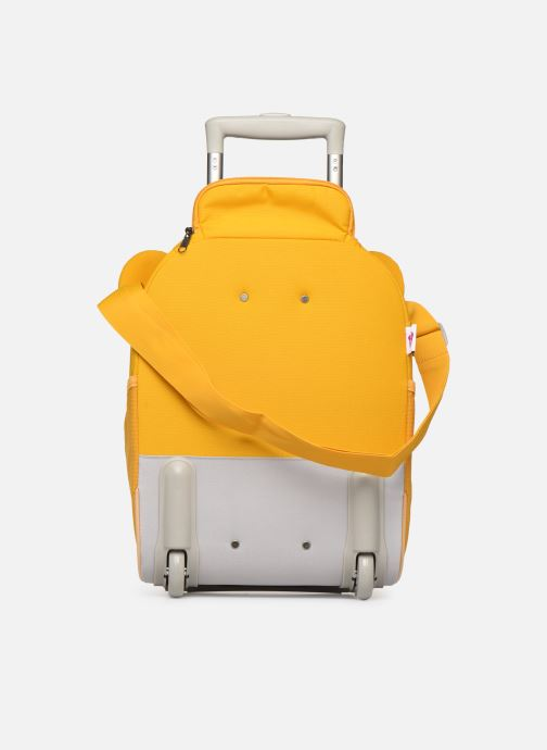 Bagages Affenzahn Timmy Tiger Suitcase 30*16,5*40cm Jaune vue face