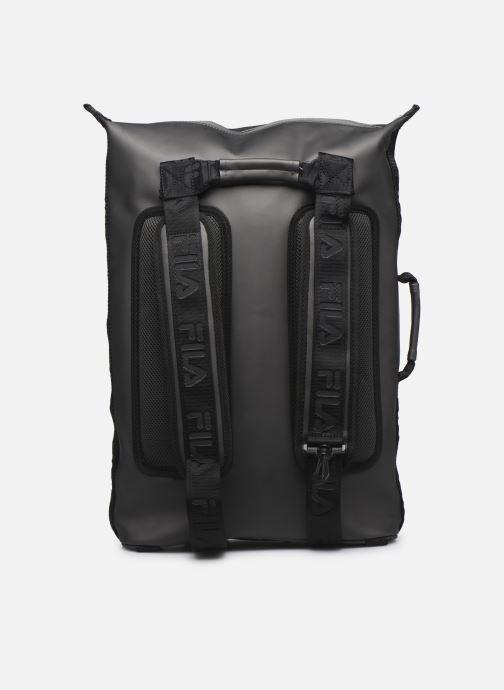 Sacs à dos FILA Soft Cube Backpack Frosted PU -3D Mesh Gris vue face
