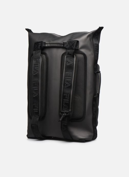 Sacs à dos FILA Soft Cube Backpack Frosted PU -3D Mesh Gris vue droite