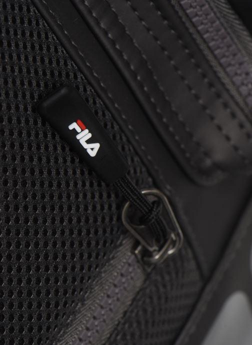 Sacs à dos FILA Soft Cube Backpack Frosted PU -3D Mesh Gris vue gauche