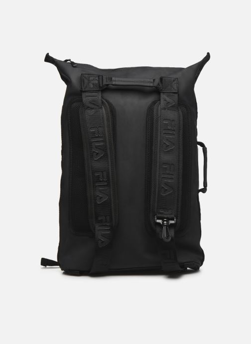 Sacs à dos FILA Soft Cube Backpack Frosted PU -3D Mesh Noir vue face