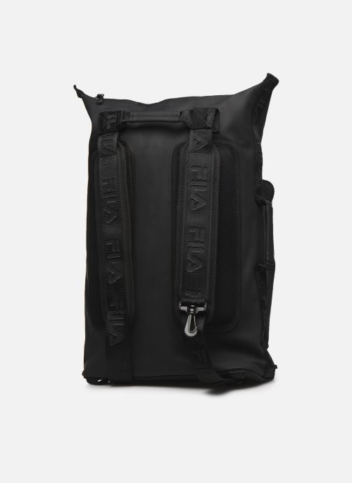 Mochilas FILA Soft Cube Backpack Frosted PU -3D Mesh Negro vista lateral derecha