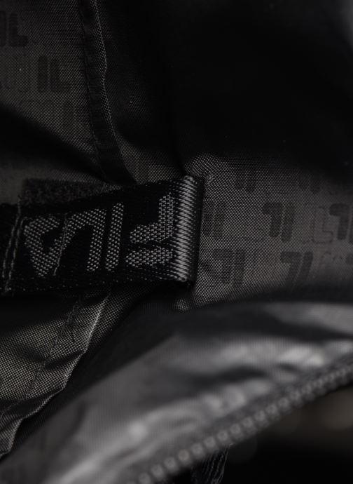 Mochilas FILA Soft Cube Backpack Frosted PU -3D Mesh Negro vistra trasera
