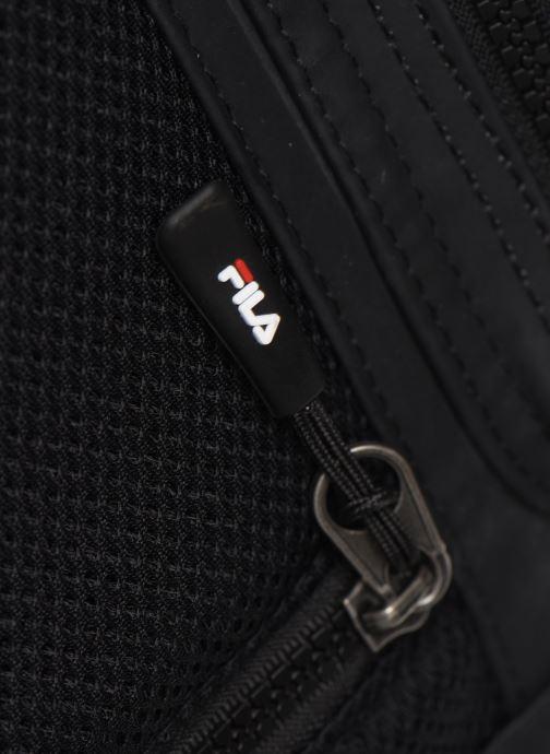 Sacs à dos FILA Soft Cube Backpack Frosted PU -3D Mesh Noir vue gauche
