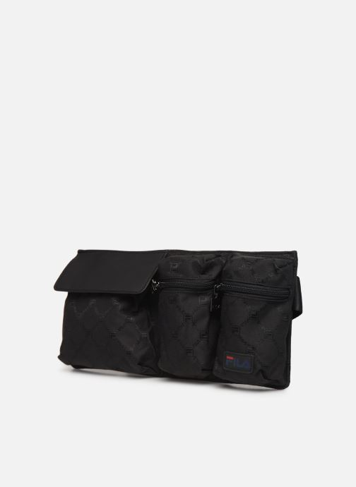 Petite Maroquinerie FILA Waist Bag New Twist Noir vue portées chaussures