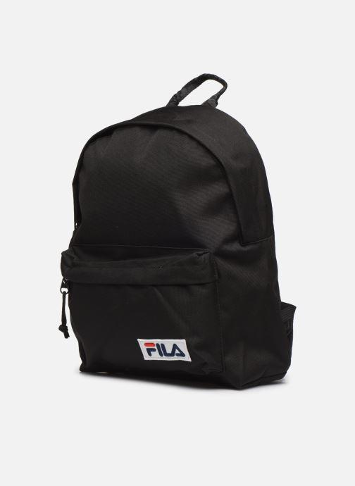Zaini FILA Mini Backpack Nero modello indossato