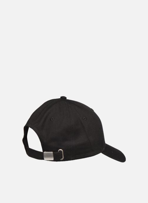 Kappe FILA Panel Cap Leniar Logo schwarz schuhe getragen
