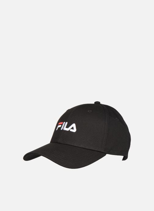 Gorra FILA PANEL CAP leniar logo Negro vista de detalle / par