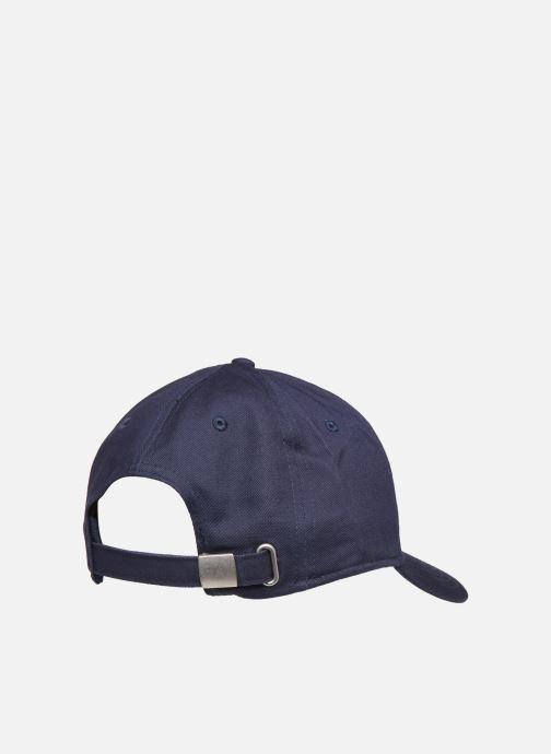 Gorra FILA PANEL CAP leniar logo Azul vista del modelo