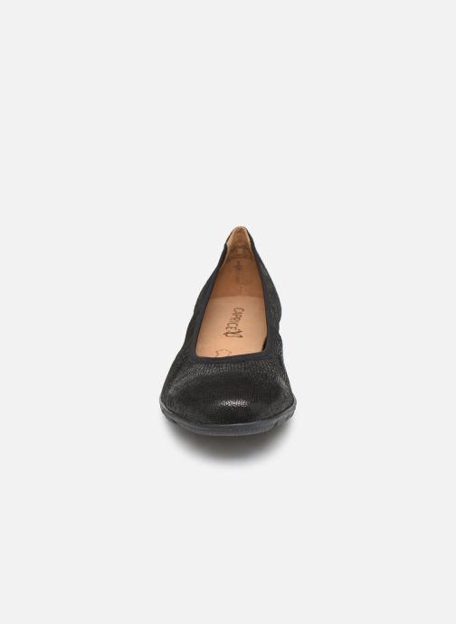 Ballerines Caprice Lana Noir vue portées chaussures