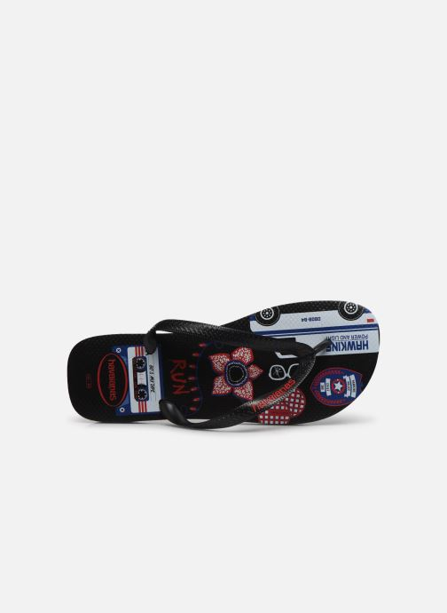 Chanclas Havaianas Top Netflix Stranger Things Multicolor vista lateral izquierda