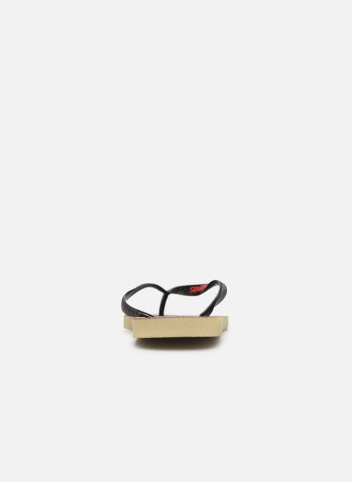 Chanclas Havaianas Top Netflix Casa de Papel Multicolor vista lateral derecha