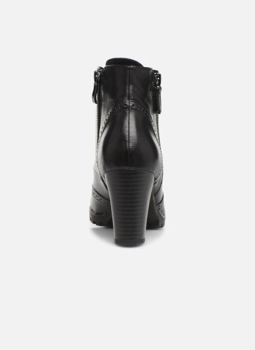 Bottines et boots Caprice Alia Noir vue droite