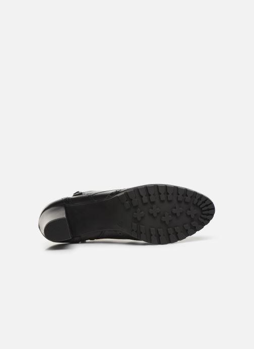 Bottines et boots Caprice Alia Noir vue haut