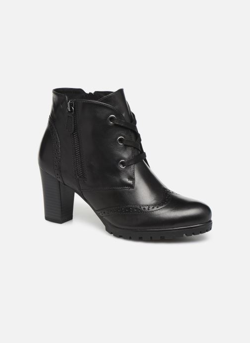 Ankelstøvler Caprice Alia Sort detaljeret billede af skoene