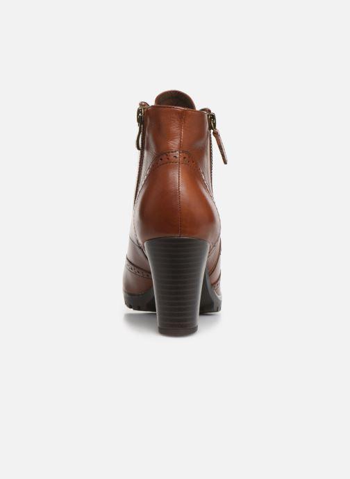 Bottines et boots Caprice Alia Marron vue droite