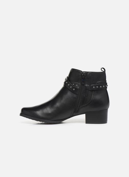 Bottines et boots Caprice Lola Noir vue face