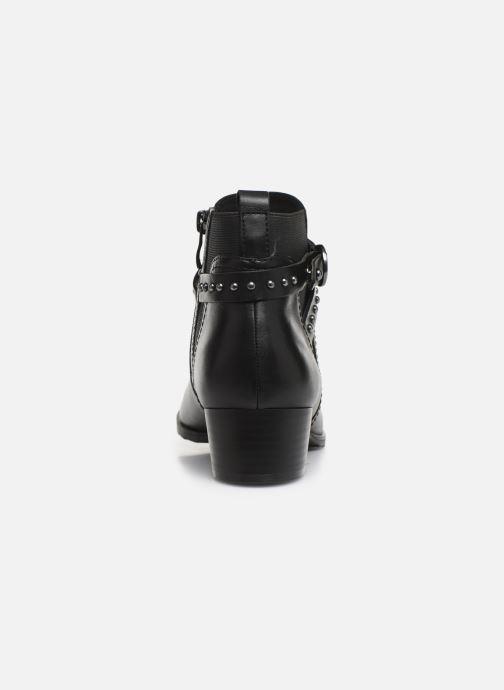 Bottines et boots Caprice Lola Noir vue droite