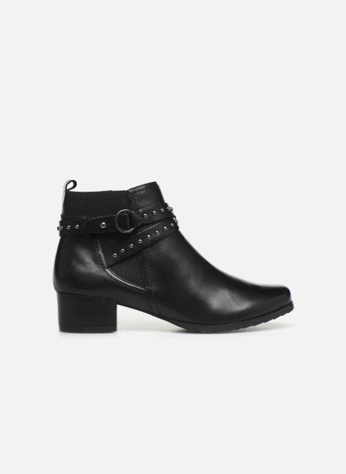 Bottines et boots Caprice Lola Noir vue derrière