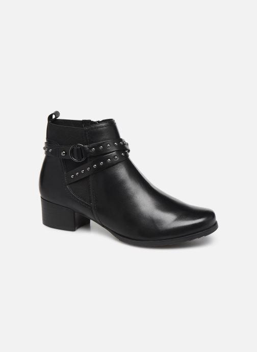 Bottines et boots Caprice Lola Noir vue détail/paire
