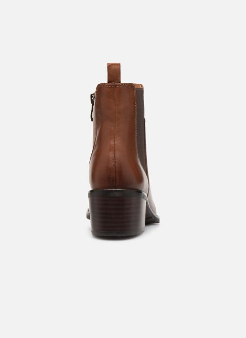 Ankle boots Caprice Lory Brown view from the right