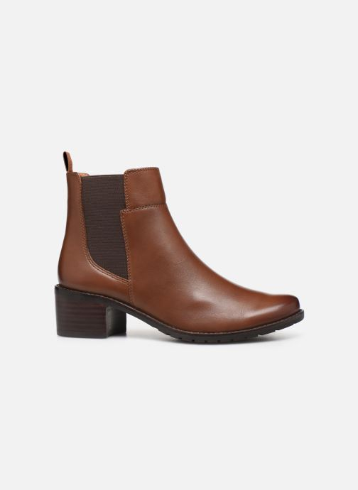 Ankle boots Caprice Lory Brown back view