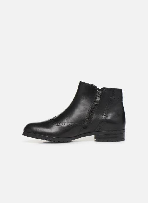 Bottines et boots Caprice Sala Noir vue face