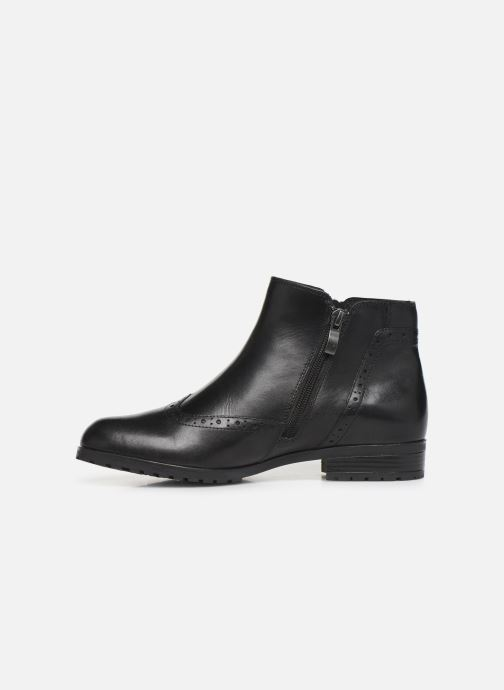 Ankle boots Caprice Sala Black front view