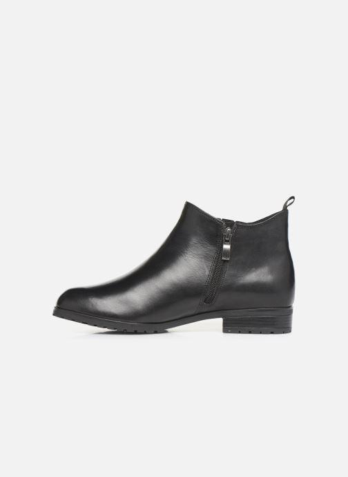 Bottines et boots Caprice Thelma Noir vue face