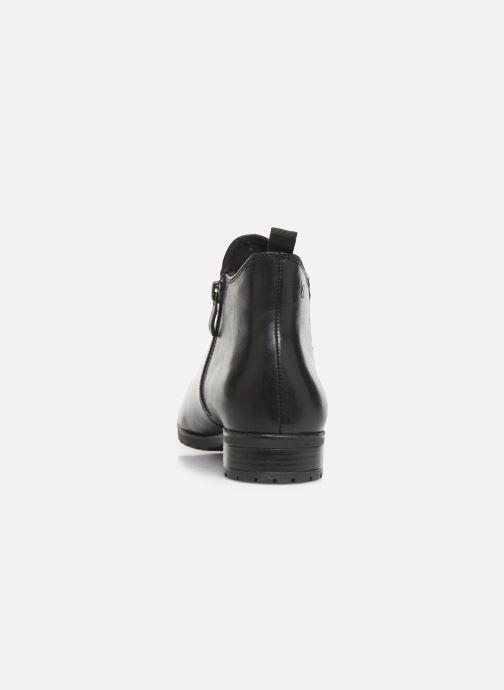 Bottines et boots Caprice Thelma Noir vue droite